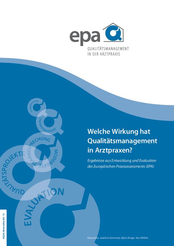 EPA Evaluationsstudie