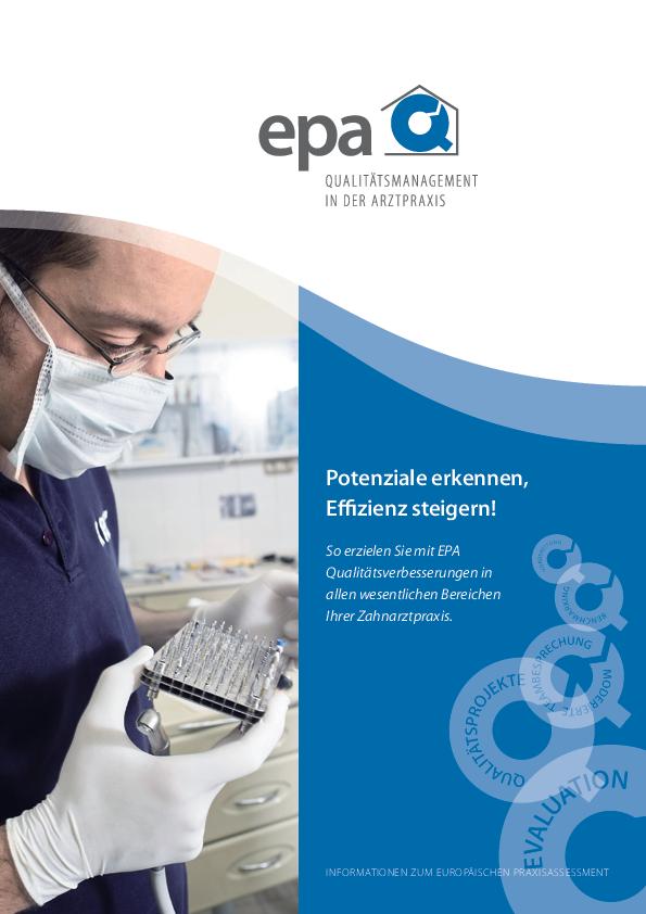 EPA Infobroschüre Zahnarzt