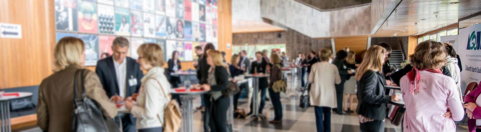 Bild von einer aQua-Veranstaltung in der Stadthalle Göttingen