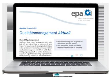 Anmeldung zum EPA Newsletter